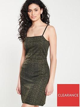 v-by-very-animal-print-jersey-mini-dress-ndash-khaki