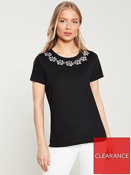 v-by-very-jewel-neck-tee-black