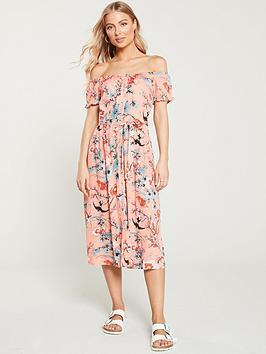 oasis-mellow-meadownbspbardot-midi-dress-multi
