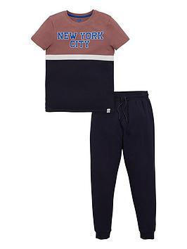 v-by-very-boys-new-york-city-t-shirt-amp-jogger-set-navy