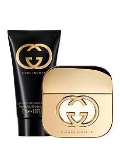new style 6eaba 47004 Gucci Gucci Guilty Pour Femme 30ml Eau de Toilette  50ml Bodylotion Giftset