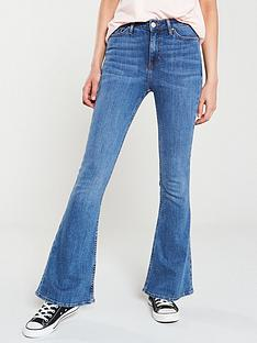 v-by-very-high-waisted-flare-jeans-mid-wash