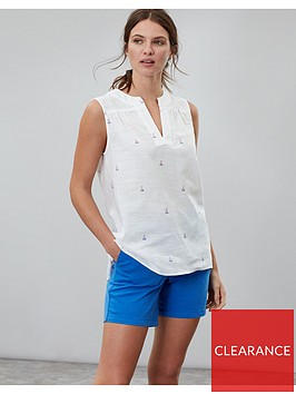 joules-juliette-woven-top-bluewhite-stripe