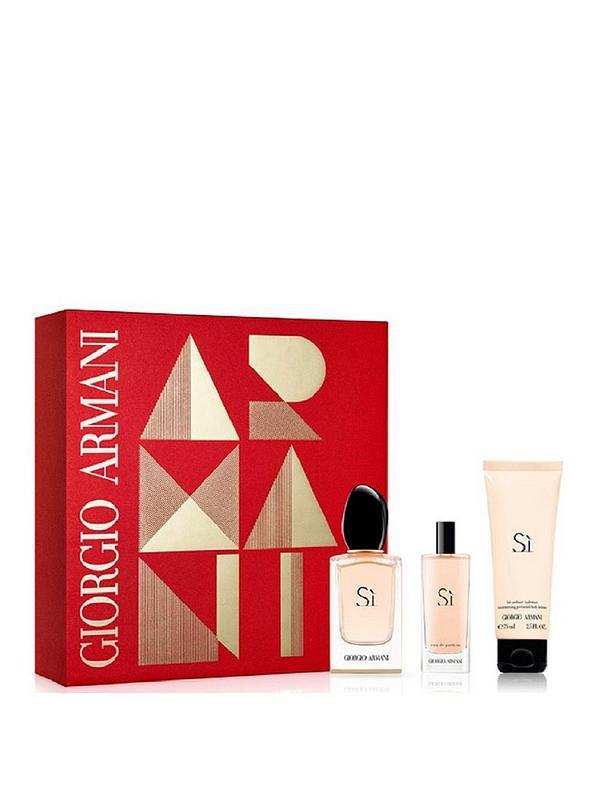 0ce56f42a183a Giorgio Armani Giorgio Armani Si Ladies 50ml Eau de Parfume, 75ml  Bodylotion & 15ml Eau de Parfume Gift Set