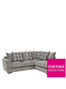Grey Corner Sofas | Leather & Fabric | Very.co.uk