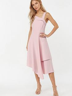 monsoon-odette-asymmetric-dress-pink