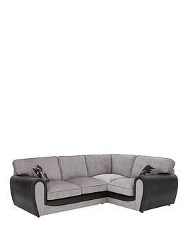 fleurnbspfabric-and-snakeskin-right-hand-corner-group-standard-back-sofa