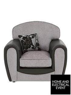 fleur-fabric-and-snakeskin-armchair