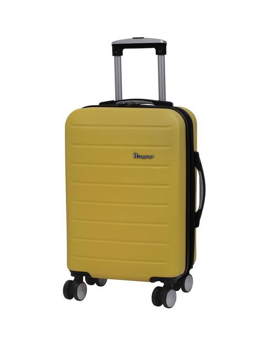 0d34a772d it Luggage Legion Single Expander Hard Shell Cabin Case | very.co.uk