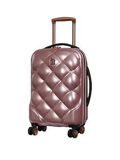 it-luggage-st-tropez-deux-single-expander-hard-shell-cabin-case