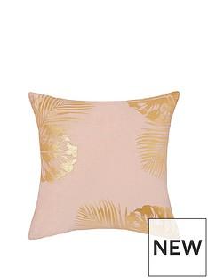 monsoon-velvet-leaf-cushion