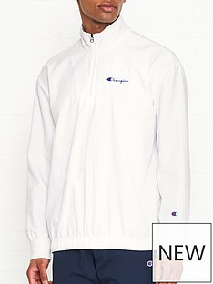 champion-reverse-weave-half-zip-tracksuit-top-white