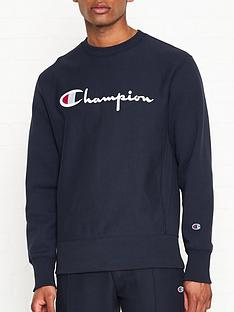 champion-reverse-weave-embroidered-logo-sweatshirt-navy