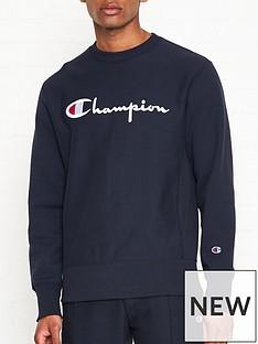 champion-reverse-weave-embroidered-logo-sweatshirt-navy