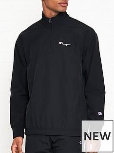 champion-reverse-weave-half-zip-tracksuit-top-black
