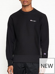 champion-reverse-weave-embroidered-back-logo-sweatshirt-black