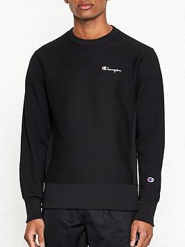 champion-reverse-weave-embroidered-back-logo-sweatshirt-black
