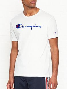 champion-reverse-weave-embroidered-logo-t-shirt-white