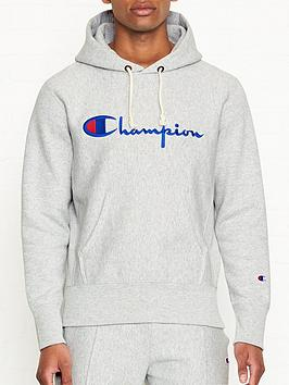 champion-reverse-weave-embroidered-logo-overhead-hoodie-grey