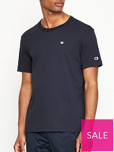 bfb4e2dc Champion Reverse Weave Embroidered Back Logo T-shirt - Navy