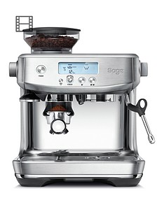 Sage Sage the Barista Pro Coffee Machine - Steel