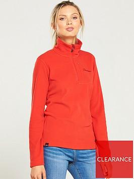 berghaus-prism-micro-14-zip-fleece-jacket-orange