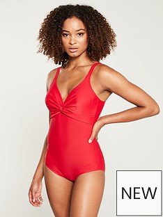 speedo-brigitte-swimsuit-red