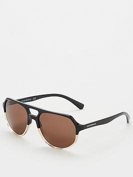 emporio-armani-aviator-ea4111-sunglasses-black