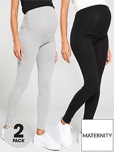 v-by-very-2-pack-maternity-legging-black-grey