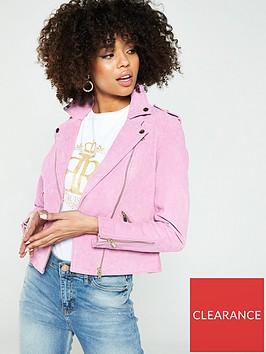 river-island-river-island-suede-biker-jacket--light-pink