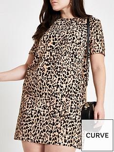 a64ad8b19a1 RI Plus Ri Plus Leopard Print Swing Dress- Leopard Print