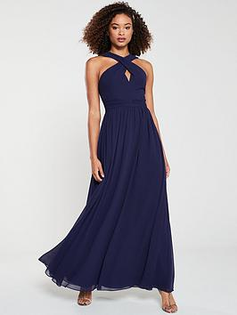 v-by-very-twist-front-maxi-dress-navy