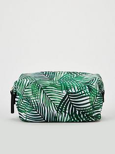 v-by-very-leaf-print-cosmetic-bag