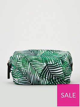 v-by-very-leaf-print-cosmetic-bag