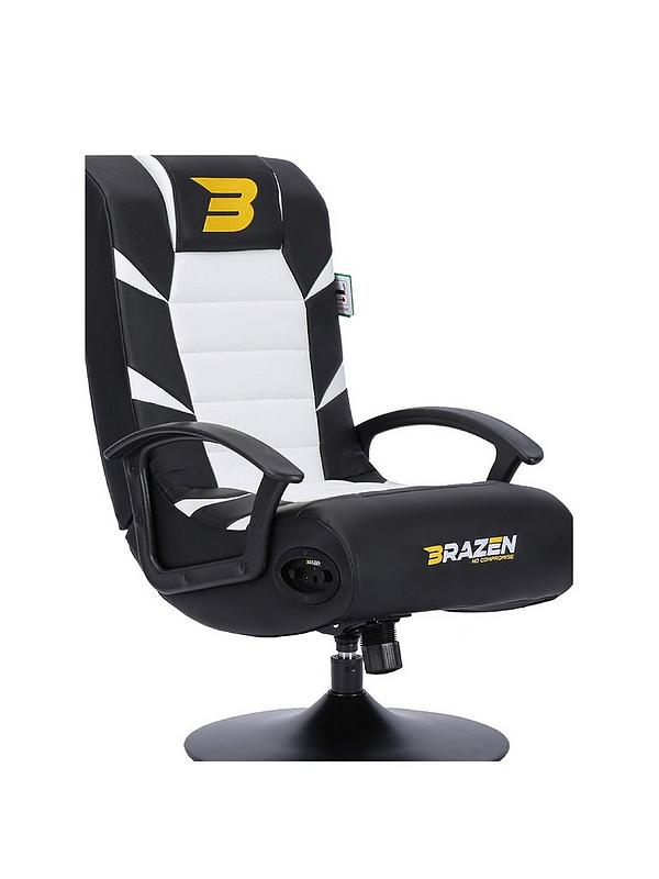Pride 21 Bluetooth Gaming Chair Black And White
