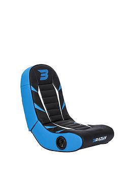 Brazen Python 2.0 Bluetooth Surround Sound Gaming Chair - Blue