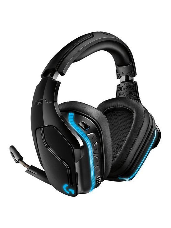 d7ba4c55b66 Logitech G935 Wireless 7.1 LIGHTSYNC Gaming Headset | very.co.uk