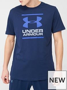 under-armour-gi-foundation-short-sleeve-t-shirt-redgreyblue