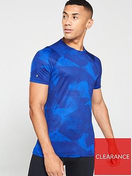 under-armour-rush-short-sleeve-t-shirt-blueblack