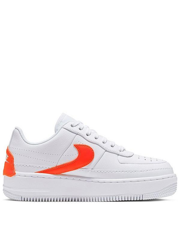differently exquisite design purchase cheap Air Force 1 Jester - White/Orange