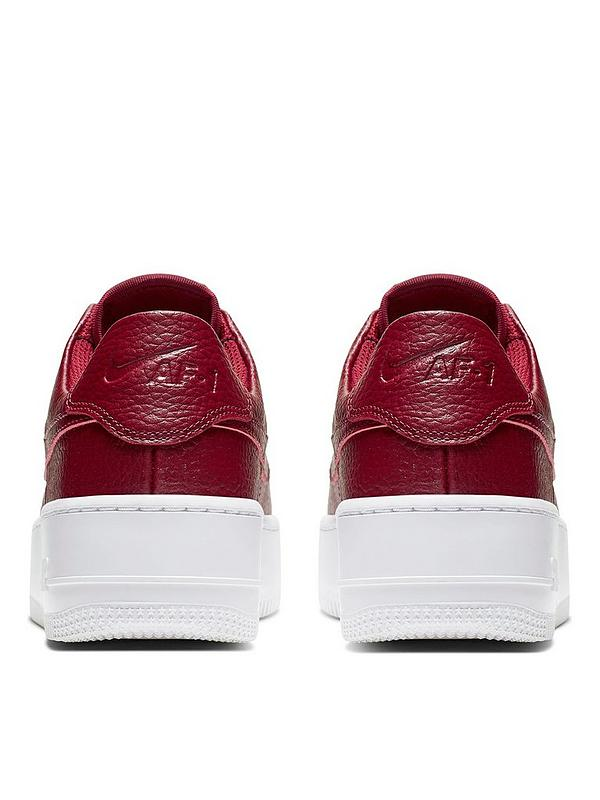 Air Force 1 Sage Low BurgundyWhite