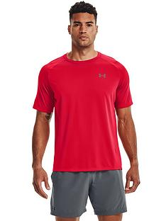 under-armour-tech-20-short-sleeve-t-shirt-redgrey
