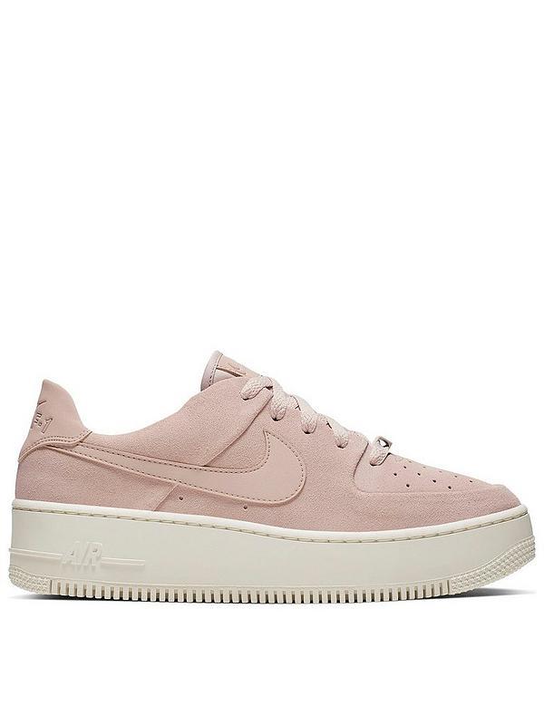 nike air force weiß pink
