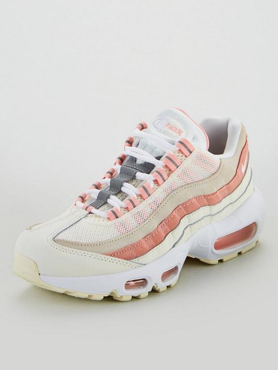 purchase cheap b5e49 67b91 Air Max 95 - White/Coral