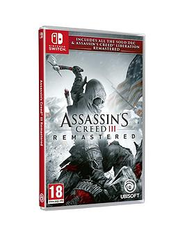 nintendo-switch-assassinrsquos-creed-iii-remasterednbsp-assassins-creednbspliberations
