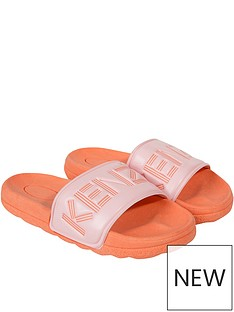 kenzo-girls-logo-sliders-orange