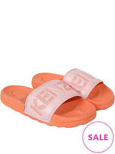 kenzo-girls-logo-sliders-orange