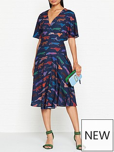 ps-paul-smith-live-faster-cheetah-print-wrap-style-dress-navy