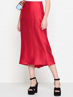 bec-bridge-classic-full-circle-silk-skirt-pink