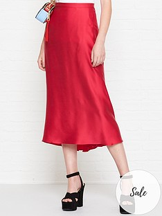 bec-bridge-classic-full-circle-silk-skirt-pink